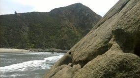 plaża schowana Obrazy Stock