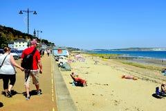 Plaża, Shanklin, wyspa Wight, UK Fotografia Royalty Free
