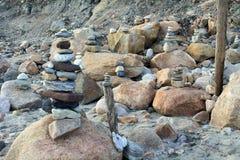 Plaż struktury Zdjęcie Stock