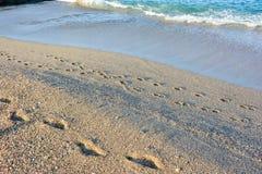 Plaża w Alanya Obraz Royalty Free