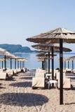 Plaża w Budva, Montenegro Zdjęcia Royalty Free