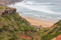 Plaża w Cabo De Sao Vincente Fotografia Stock