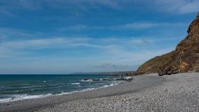 Plaża w Cornwall, Anglia Zdjęcia Royalty Free