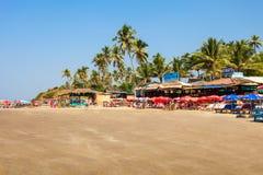 Plaża w Goa, India Obrazy Stock