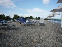 Plaża w Halikidiki Obraz Stock