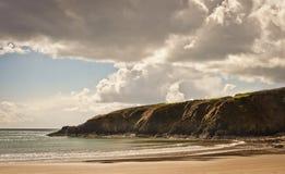Plaża w Irlandia zdjęcie royalty free