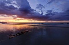 Plaża W Kot Kinabalu Obrazy Stock