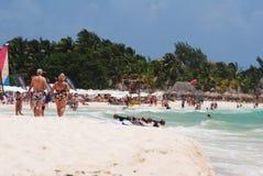Plaża w Meksyk Zdjęcie Royalty Free