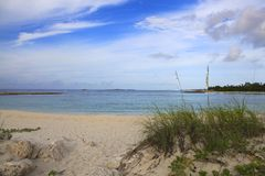 Plaża w Nassau Zdjęcie Royalty Free