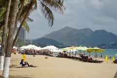Plaża w Nha Trang fotografia royalty free
