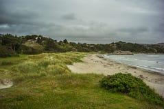 Plaża w Norwegia Zdjęcie Stock