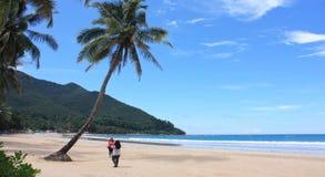 Plaża w Palawan Zdjęcie Stock