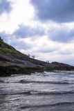 Plaża w peruÃbe Zdjęcia Stock