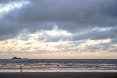 Plaża w peruÃbe Fotografia Stock