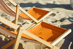 Plaża w Polska Zdjęcie Stock