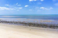 Plaża w Pranburi Fotografia Royalty Free