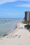 Plaża w Recife, Brazylia Obrazy Royalty Free