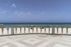 Plaża w Sousse Obraz Royalty Free