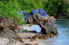 Plaża w Unguja Ukuu, Zanzibar Zdjęcia Stock