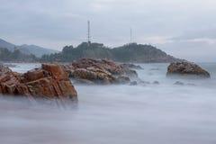 Plaża w Wietnam Obrazy Royalty Free