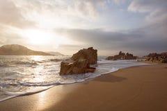Plaża w Wietnam Zdjęcie Stock