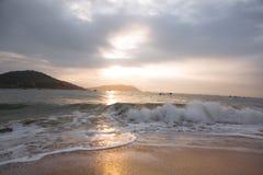 Plaża w Wietnam Obraz Stock