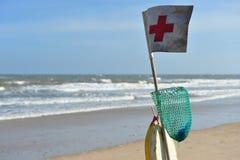 Plaża w Wietnam, farmacy znak Zdjęcie Stock