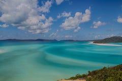 plaża whitehaven Zdjęcia Royalty Free