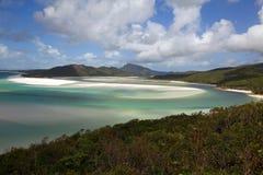 plaża whitehaven Zdjęcie Stock