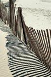 plaży abstrakcjonistyczny ogrodzenie Fotografia Royalty Free