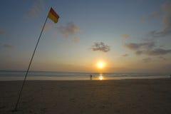 plaży bali kuta Zdjęcia Royalty Free