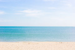 plaży morza Zdjęcie Royalty Free