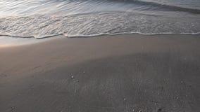 Pla?a z morze fala zbiory wideo