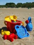 plaż zabawki. Zdjęcie Stock