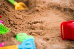 Plaż zabawki Zdjęcie Royalty Free
