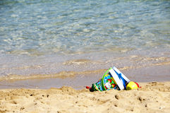 Plaż zabawki Fotografia Stock