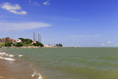 Plaża shuzhuanghuayuan ogród na gulangyu wyspie Obraz Stock