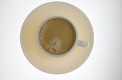 Plaat en coffe Royalty-vrije Stock Fotografie