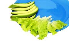 Plaat met groenten Stock Fotografie