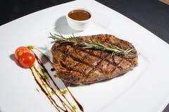 Plaat met lapje vlees Royalty-vrije Stock Fotografie