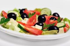 Plaat met salade Royalty-vrije Stock Foto