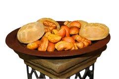 Plaat van broodjes Royalty-vrije Stock Afbeeldingen