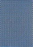 plaat van een metaal met een perforatie Stock Foto's