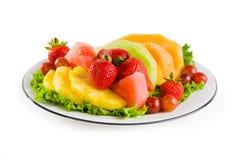 Plaat van Fruit Royalty-vrije Stock Foto's