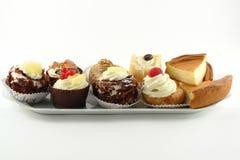 Plaat van gebakjes Royalty-vrije Stock Foto's