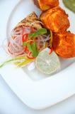 Plaat van gekookt voedsel Royalty-vrije Stock Afbeelding
