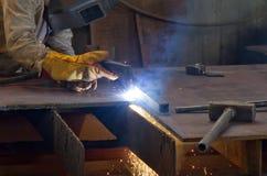 Plaat van het plasma de scherpe staal stock afbeeldingen