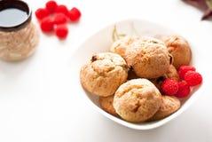 Plaat van koekjes Stock Afbeeldingen