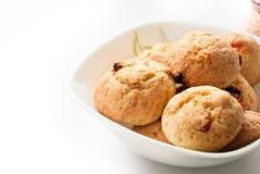 Plaat van koekjes Royalty-vrije Stock Foto