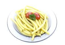 Plaat van macaroni Royalty-vrije Stock Afbeeldingen